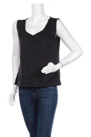 Γυναικείο αμάνικο μπλουζάκι Madeleine, Μέγεθος XL, Χρώμα Μαύρο, 95% πολυαμίδη, 5% ελαστάνη, Τιμή 10,23€