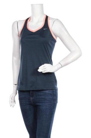 Дамски потник Nike, Размер S, Цвят Син, Полиестер, Цена 20,16лв.