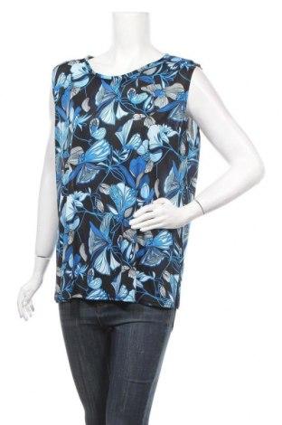 Γυναικείο αμάνικο μπλουζάκι Okay, Μέγεθος XL, Χρώμα Πολύχρωμο, 92% πολυεστέρας, 8% ελαστάνη, Τιμή 7,73€