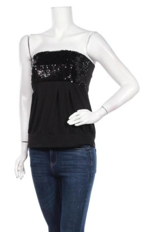 Дамски потник Takko Fashion, Размер L, Цвят Черен, 47% полиестер, 47% вискоза, 6% еластан, Цена 3,00лв.