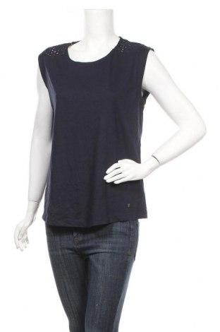 Γυναικείο αμάνικο μπλουζάκι Tchibo, Μέγεθος L, Χρώμα Μπλέ, 50% πολυεστέρας, 38% βαμβάκι, 12% βισκόζη, Τιμή 6,82€