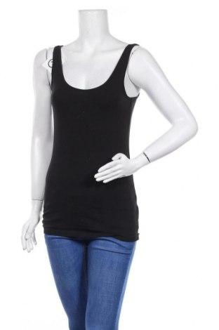 Γυναικείο αμάνικο μπλουζάκι Tchibo, Μέγεθος S, Χρώμα Μαύρο, 95% βαμβάκι, 5% ελαστάνη, Τιμή 10,39€