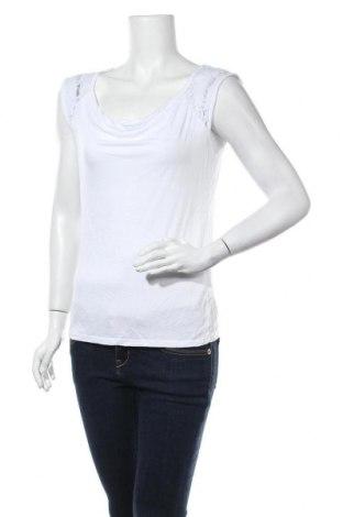 Γυναικείο αμάνικο μπλουζάκι Today, Μέγεθος M, Χρώμα Λευκό, 95% πολυαμίδη, 5% ελαστάνη, Τιμή 11,69€