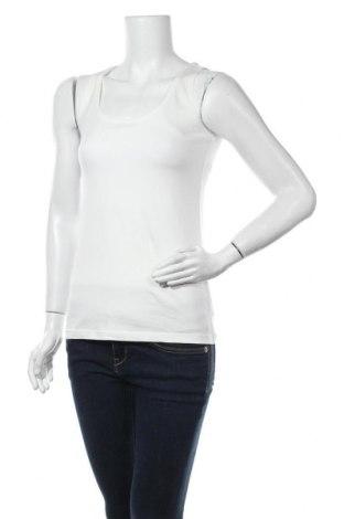 Дамски потник Tom Tailor, Размер S, Цвят Бял, 95% памук, 5% еластан, Цена 8,58лв.