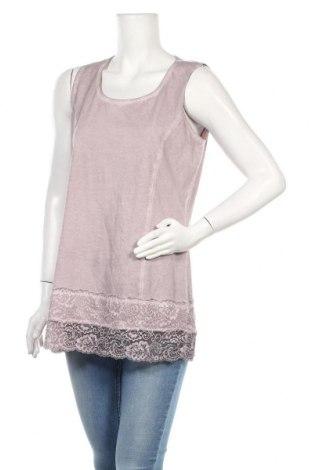 Γυναικείο αμάνικο μπλουζάκι Tredy, Μέγεθος M, Χρώμα Βιολετί, Βαμβάκι, Τιμή 8,28€
