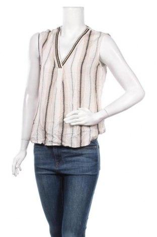 Γυναικείο αμάνικο μπλουζάκι Un Deux Trois, Μέγεθος S, Χρώμα  Μπέζ, Πολυεστέρας, Τιμή 11,43€