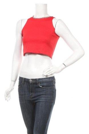 Γυναικείο αμάνικο μπλουζάκι Vert De Rage, Μέγεθος S, Χρώμα Κόκκινο, Πολυεστέρας, Τιμή 6,33€