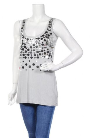 Γυναικείο αμάνικο μπλουζάκι Viventy by Bernd Berger, Μέγεθος M, Χρώμα Γκρί, 96% βισκόζη, 4% ελαστάνη, Τιμή 3,18€