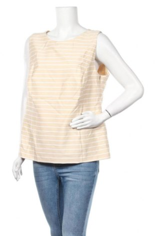 Γυναικείο αμάνικο μπλουζάκι Your Sixth Sense, Μέγεθος XL, Χρώμα  Μπέζ, 74% πολυεστέρας, 23% βισκόζη, 3% ελαστάνη, Τιμή 6,82€