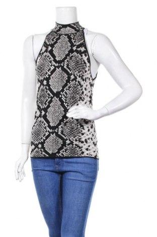 Γυναικείο αμάνικο μπλουζάκι Zara Knitwear, Μέγεθος L, Χρώμα Πολύχρωμο, 86% βισκόζη, 11% πολυαμίδη, 3% πολυεστέρας, Τιμή 10,05€
