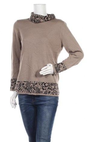 Дамски пуловер Atelier GS, Размер M, Цвят Кафяв, Акрил, Цена 9,92лв.
