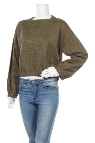 Дамски пуловер Glassons, Размер S, Цвят Зелен, 50% вискоза, 30% полиамид, 20% полиестер, Цена 20,79лв.