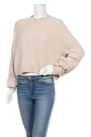 Γυναικείο πουλόβερ H&M, Μέγεθος S, Χρώμα  Μπέζ, Πολυεστέρας, Τιμή 16,08€