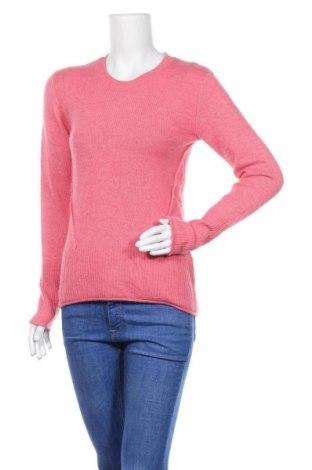 Дамски пуловер H&M L.O.G.G., Размер XS, Цвят Розов, 62% акрил, 30% полиамид, 6% вълна, 2% еластан, Цена 20,16лв.