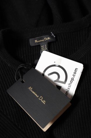 Γυναικείο πουλόβερ Massimo Dutti, Μέγεθος XS, Χρώμα Μαύρο, 71% βισκόζη, 29% πολυεστέρας, Τιμή 46,01€