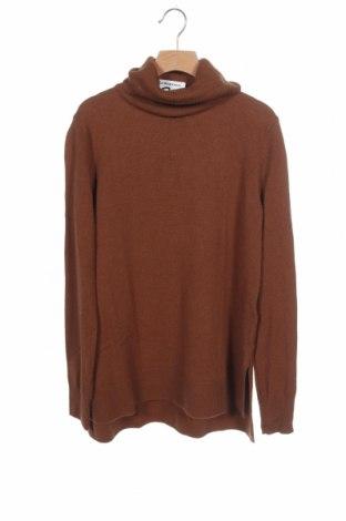 Γυναικείο πουλόβερ Massimo Dutti, Μέγεθος XS, Χρώμα Καφέ, 49% μαλλί, 28% βισκόζη, 18% πολυαμίδη, 5% κασμίρι, Τιμή 37,11€