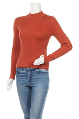 Дамски пуловер Miss Valley, Размер M, Цвят Оранжев, 70% полиестер, 30% полиамид, Цена 28,35лв.