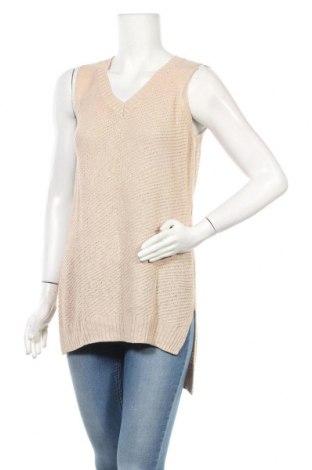 Дамски пуловер Reitmans, Размер M, Цвят Бежов, Цена 15,02лв.