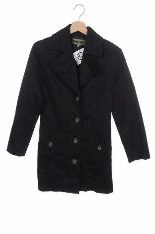Дамски шлифер, Размер XS, Цвят Син, 98% памук, 2% еластан, Цена 9,45лв.