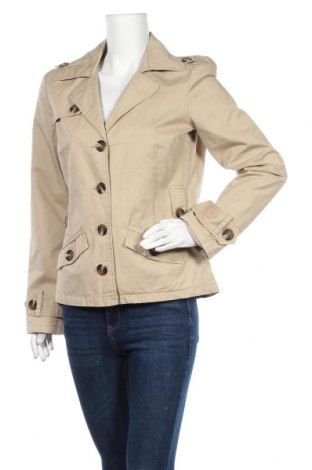 Дамски шлифер Clockhouse, Размер XL, Цвят Бежов, 100% памук, Цена 11,03лв.