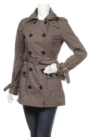 Дамски шлифер Clockhouse, Размер S, Цвят Зелен, Памук, Цена 15,43лв.