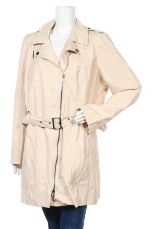 Дамски шлифер Ms Mode, Размер XXL, Цвят Бежов, 60% памук, 40% полиамид, Цена 11,03лв.