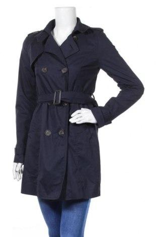Дамски шлифер Pimkie, Размер XS, Цвят Син, 66% полиестер, 34% памук, Цена 28,67лв.