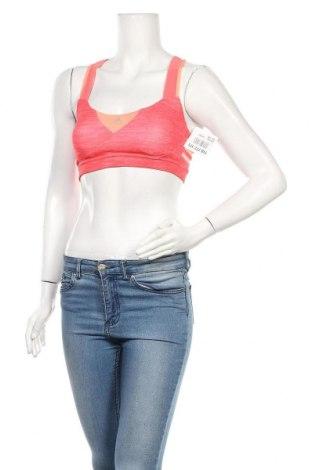 Γυναίκειο αθλητικό τοπ Adidas, Μέγεθος S, Χρώμα Ρόζ , 89% πολυεστέρας, 11% ελαστάνη, Τιμή 22,08€