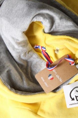 Γυναικείο φούτερ Teddy Smith, Μέγεθος M, Χρώμα Κίτρινο, 79% βαμβάκι, 21% πολυεστέρας, Τιμή 16,06€