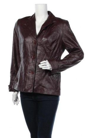 Дамско кожено сако Eagle, Размер XL, Цвят Лилав, Естествена кожа, Цена 60,27лв.