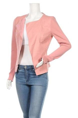 Γυναικείο σακάκι ONLY, Μέγεθος S, Χρώμα Ρόζ , Δερματίνη, βισκόζη, πολυαμίδη, ελαστάνη, Τιμή 16,96€