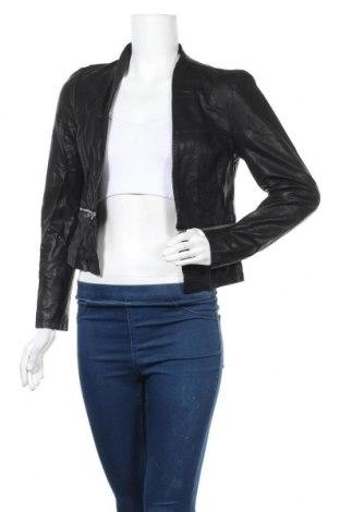 Дамско кожено сако Vero Moda, Размер S, Цвят Черен, Еко кожа, Цена 48,30лв.