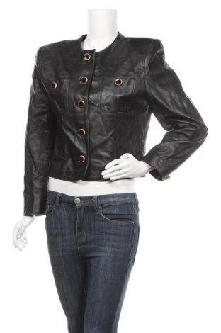 Γυναικείο δερμάτινο μπουφάν Lord & Taylor, Μέγεθος L, Χρώμα Μαύρο, Γνήσιο δέρμα, Τιμή 59,75€