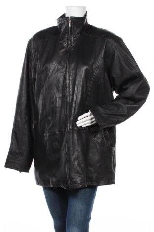 Γυναικείο δερμάτινο μπουφάν, Μέγεθος XL, Χρώμα Μαύρο, Γνήσιο δέρμα, Τιμή 20,00€