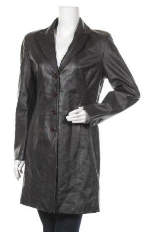 Дамско кожено палто Barisal, Размер L, Цвят Кафяв, Естествена кожа, Цена 86,10лв.