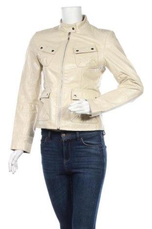Γυναικείο δερμάτινο μπουφάν Gipsy, Μέγεθος S, Χρώμα  Μπέζ, Γνήσιο δέρμα, Τιμή 30,92€