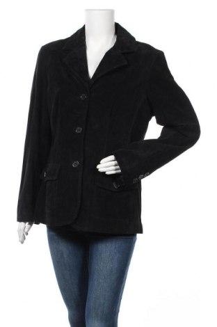 Дамско кожено яке Lady Hathaway, Размер L, Цвят Черен, Естествен велур, Цена 17,85лв.