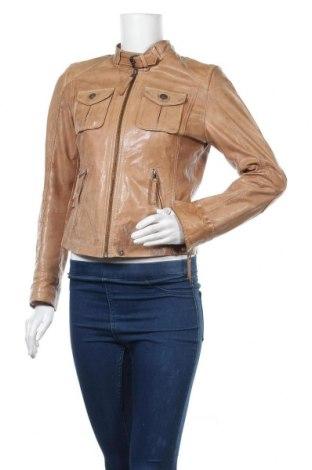 Γυναικείο δερμάτινο μπουφάν Oakwood, Μέγεθος M, Χρώμα Καφέ, Γνήσιο δέρμα, Τιμή 49,30€