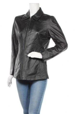 Γυναικείο δερμάτινο μπουφάν Sonoma, Μέγεθος M, Χρώμα Μαύρο, Γνήσιο δέρμα, Τιμή 26,18€