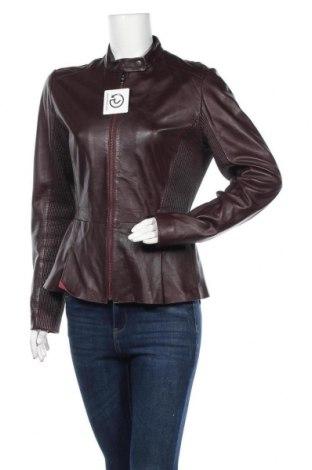 Γυναικείο δερμάτινο μπουφάν Sportmax Code, Μέγεθος L, Χρώμα Καφέ, Γνήσιο δέρμα, Τιμή 60,79€