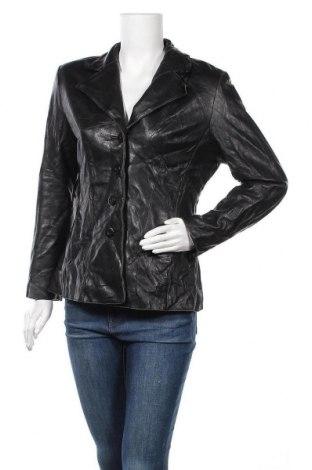 Γυναικείο δερμάτινο μπουφάν Wilsons Leather, Μέγεθος M, Χρώμα Μαύρο, Γνήσιο δέρμα, Τιμή 29,10€