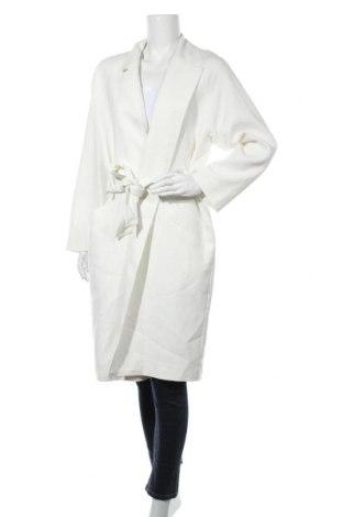 Γυναικείο παλτό, Μέγεθος L, Χρώμα Λευκό, Τιμή 17,93€