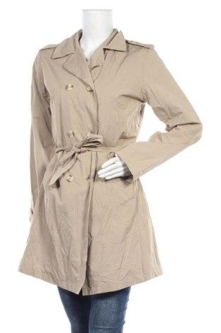 Dámský kabát , Velikost S, Barva Béžová, 68% polyester, 32% bavlna, Cena  245,00Kč