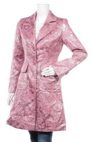 Дамско палто, Размер S, Цвят Розов, Цена 10,71лв.