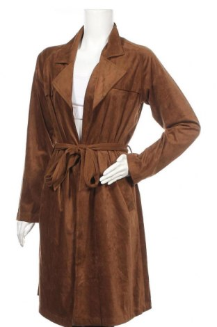 Дамско палто Bb Dakota, Размер S, Цвят Кафяв, 92% полиестер, 8% еластан, Цена 20,79лв.