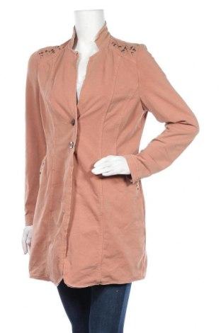 Дамско палто Bonita, Размер M, Цвят Розов, 60% памук, 35% полиестер, 5% еластан, Цена 23,37лв.