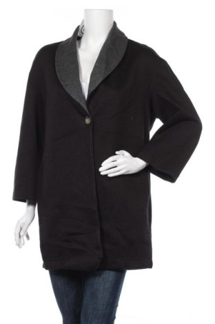 Дамско палто Fiona C., Размер M, Цвят Черен, 60% полиестер, 40% вискоза, Цена 43,05лв.