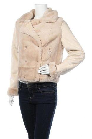 Дамско палто Gaudi Jeans, Размер M, Цвят Бежов, Полиестер, Цена 299,25лв.