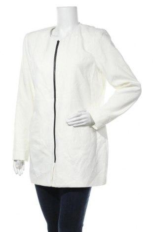 Дамско палто Katherine Barclay, Размер L, Цвят Бял, 74% полиестер, 20% вискоза, 6% еластан, Цена 19,66лв.