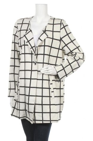 Дамско палто Rockmans, Размер XXL, Цвят Бял, Памук, полиестер, вискоза, еластан, Цена 43,05лв.